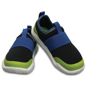Crocs Swiftwater Easy-on Shoes Kids Black/Ocean